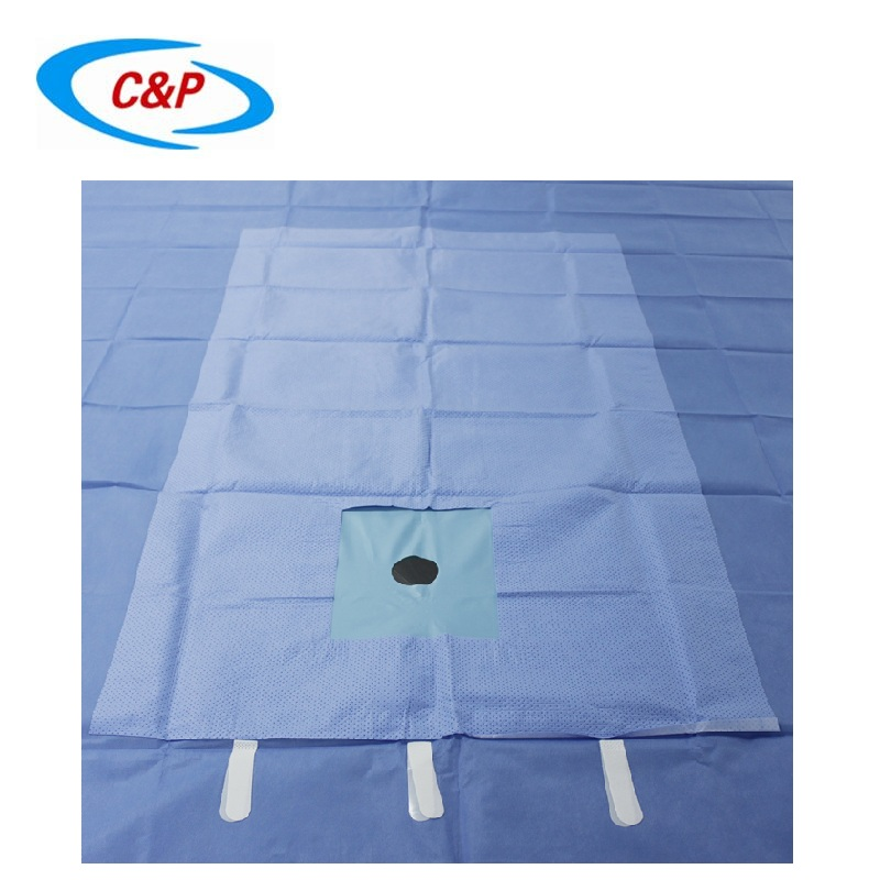 Surgical hand and foot drape