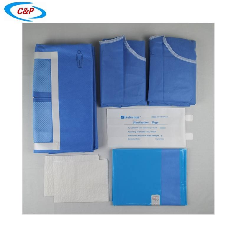Medical Laparotomy Drape Pack