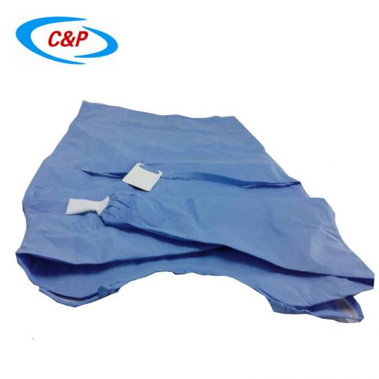 Nonwoven surgical gown